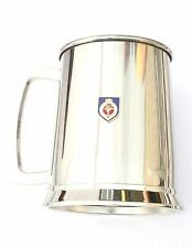 Welsh Guards Regiment Stainless Steel One Pint Beer Tankard Mug Glass BKG15