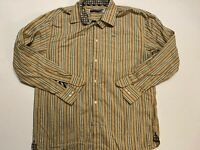 Enyce Patterned Long Sleeve Button Down Shirt Men's 2XL
