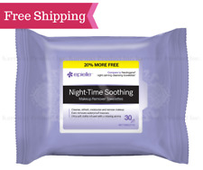 epielle® Night-Time Facial Makeup Remover Cleansing Tissue Wipes, 30ct