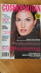 Vintage November 1995 Cosmopolitan Magazine Bigger Edition