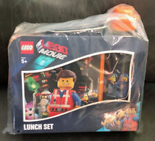 RARE THE LEGO MOVIE Lunch Set, Plastic with Thermos New in Pkg