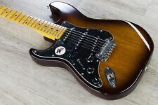 G&L Tribute S-500 Lefty Electric Guitar Left Handed Maple Board Tobacco Sunburst