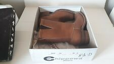 CHIPPEWA BOOTS...Men's Size 8.5D...NEW...NIB...Western style...Quality...Ready!!