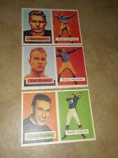 1957 Topps Reprint Lot Bart Starr, Paul Hornung, John Unitas 119, 151, 138