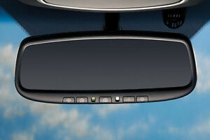 OEM 2016 - 2020 Kia Sorento AUTO DIMMING REAR VIEW MIRROR w/ HOMELINK & COMPASS