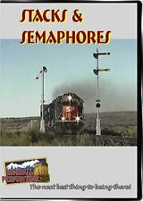 STACKS & SEMAPHORES DVD-R HIGHBALL PRODUCTIONS SOUTHERN PACIFIC , UP'S TUCUMCARI