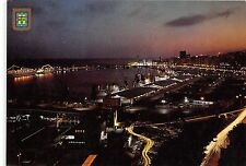 BG11892 santa cruz de tenerife vista nocturna del puerto ship bateaux spain