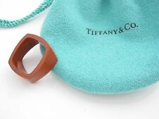 Tiffany & Co RARE Gehry Jasper Torque Ring Size 6!