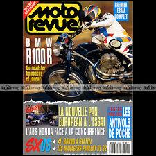 MOTO REVUE N°3026 K1 BMW R 100 R HONDA ST 1100 PAN EUROPEAN STEFAN EVERTS 1992