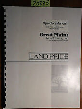 Land Pride Great Plains Rc15 Rc25 Rc35 Series Rotary Cutter Operator Manual 796