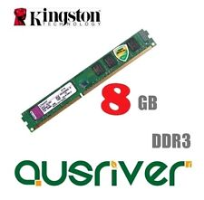 Kingston ValueRAM 8GB Kit 2x 4GB DDR3 1600MHz Desktop Computer Memory RAM 1.5V