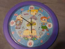 1999 Nickelodeon Rugrats Talking Wall Clock