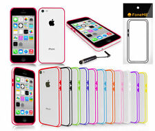 Étuis, housses et coques Bumper iPhone 5 en silicone, caoutchouc, gel pour téléphone mobile et assistant personnel (PDA)