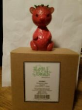 Enesco Home Grown Strawberry Bear.Ultra rare!New in box!Near Impossible to find!