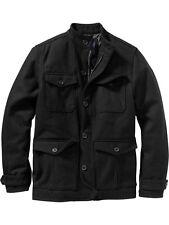 OLD NAVY Men Wool Four Pocket Coat Jacket S,M,L,XL,2XL,3XL,MT,LT,XLT,2XLT,3XLT