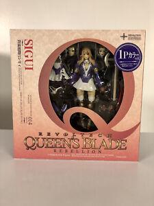 Kaiyodo Revoltech Queens Blade Sigui 1P Color Complete U.S. Seller