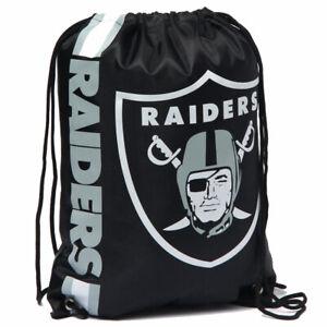 Oakland Raiders NFL Drawstring Rucksack Turnbeutel LGNFLCLGYMOR Einheitsgröße