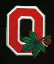 """OSU Ohio State Buckeyes Embroidered Iron On Patch (Old Stock) 3"""" x 2""""  RARE NICE"""