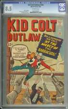 KID COLT OUTLAW #109 CGC 8.5 OW PAGES