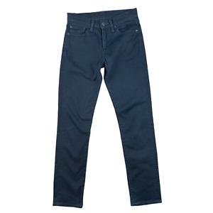 Levi's 511 Women's Jeans Black Slim Fit Jeans W29 L32 Excellent Condition Slim