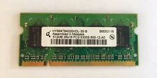 512MB PC2-5300S Laptop Memory Ram Unbuffered • NON-ECC • DDR2-667