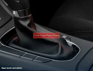 Genuine Hyundai Gear Shift Boot with Red Stitch suits Hyundai i30 built 03/2017>