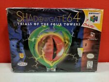 Shadowgate 64 (Nintendo 64, N64 1999) H-SEAM SEALED! - NEW