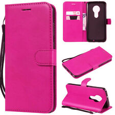 Leather Magnetic Card Slot Wallet Flip Cover Case for Motorola Moto G7 Play