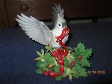 GARDEN BIRD COLLECTION --  LENOX --  '' CHRISTMAS TUFTED TITMOUSE ''