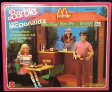 Barbie Loves McDonald's Playset New Sealed Mattel 1982 VHTF