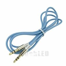 3FT 3.5mm Male to Male M/M Jack Audio Stereo Cable For PC MP3 iPod Phone Blue