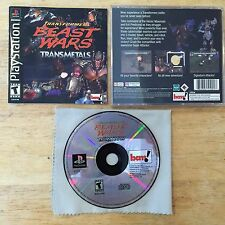 Transformers: Beast Wars Transmetals Sony Playstation 1 2 System Complete Game