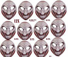 12x spaventoso Joker Maschera PSYCHO CIRCUS Batman Halloween Costume Horror maschera