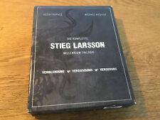 Millennium Trilogie [3 BLU RAY +1 DVD] Noomi Rapace Stieg Larsson Verblendung ..