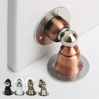Stainless Steel Home Door Floor Magnetic Stop Stopper Holder Catch Door Suction
