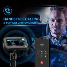 Car DAB Radio Adapter DAB FM Transmitter Radio Adapter Bluetooth Handsfree AGEUK