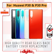 Replacement Back Battery Glass Cover Rear Housing Repair for Huawei P30 P30 Pro