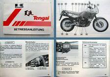 Kawasaki KL500 KL650 Tengai Motorrad Betriebsanleitung Bedienungsanleitung 1988
