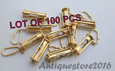 Brass Sandtimer Key Chain Nautical Decorative keychain Lot Of 100 PCS Best Gift