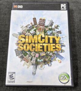 SimCity Societies (PC, 2007), SIM CITY, PC, video game, simulation, SIMCITY