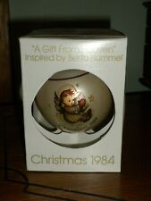 "1984 Schmid Sr. Berta Hummel ""A Gift from Heaven"" 11th Ltd.Ed.Glass Ornament"