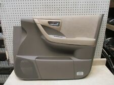 2006 07 NISSAN MURANO RIGHT RH FRONT DOOR INTERIOR PANEL WITH HANDLE OEM  (Fits: 2006 Nissan Murano)