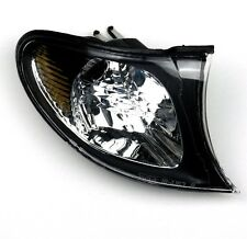 BMW E46 4 y 5 puerta 01-05 Claro Con Negro Envolvente Delantero Luces Indicadoras Par