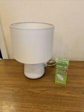 Home Ceramic White Table Lamp