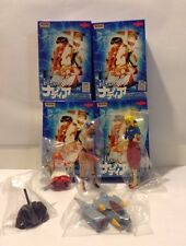 Nadia The Secret of Blue Water Yujin Trading Figure Set of 4 Rare