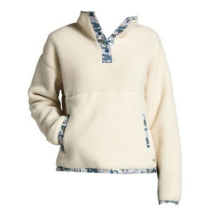 THE NORTH FACE 2021 Womens LIBERTY CRAGMONT 1/4 SNAP FLEECE Bleached Sand