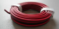 RED-BLACK 2-Conductor 22-Gauge Stranded Copper Wire 16'/Roll HOBBY ACCESSORY