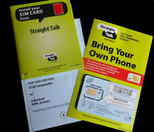 Straight Talk AT&T Compatible Standard SIM Card