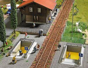 HO Scale Buildings - 1465 - Pedestrian subway - kit