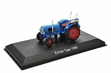 EICHER TIGER TRACTOR, 1960, 1:43 SCALE  Blue  Altaya